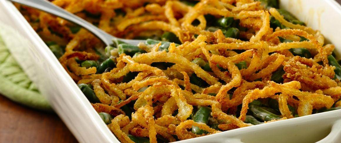 Gluten-Free Green Bean Casserole with Fried Onions recipe from Betty ...