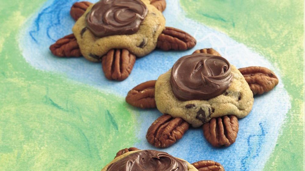 Choco-Caramel Turtles