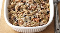 Skinny Salsa, Pork, and Black Bean Casserole