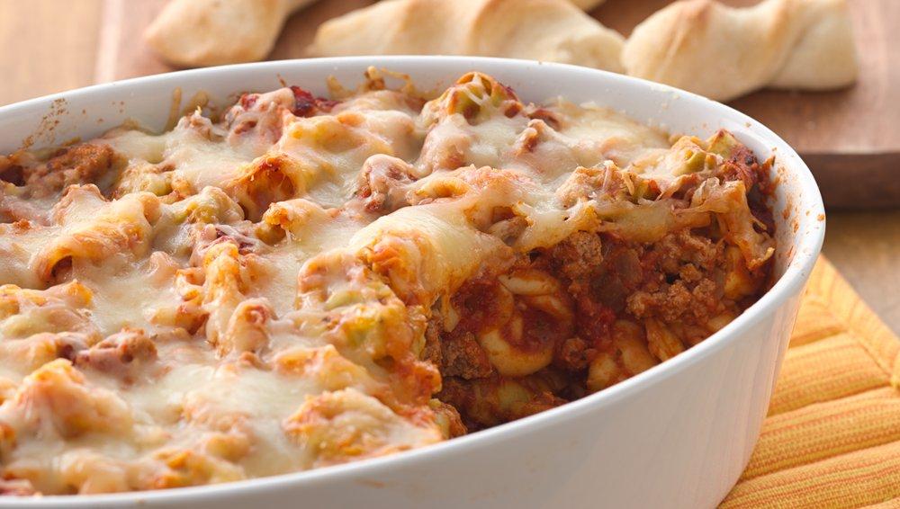 Cheesy Baked Tortellini