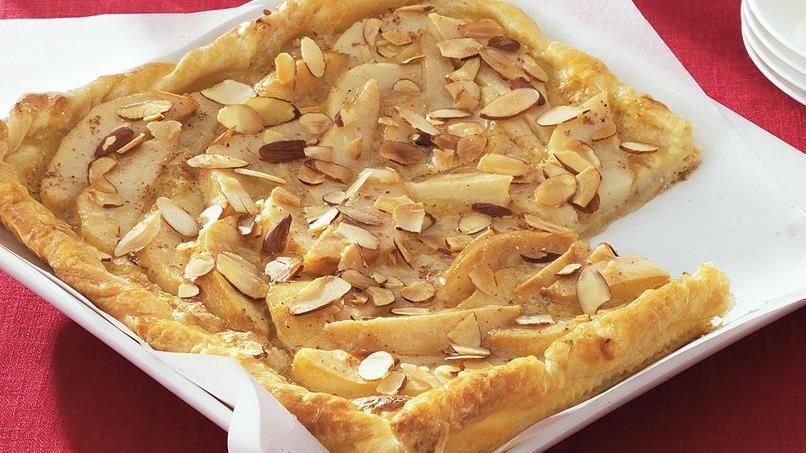 Pear-Almond Tart