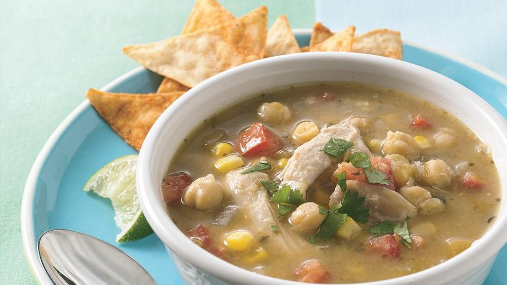 Slow-Cooker Chicken Tortilla Soup