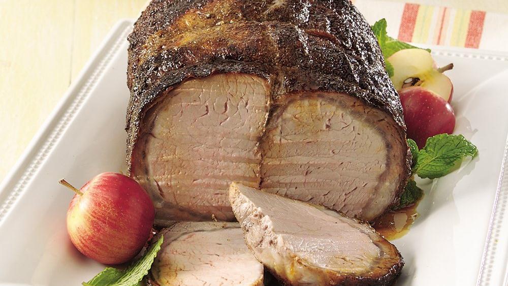 Grilled Seasoned Pork Roast