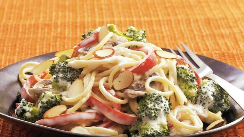 Vegetable Skillet Tetrazzini