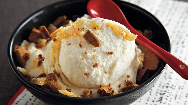 Ginger Ice Cream