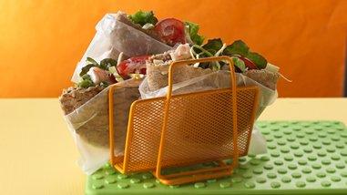 Crunchy Seafood Sandwiches
