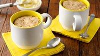 Cinnamon-Banana-Nut Mug Muffins