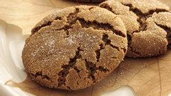 Molasses Drop Cookies