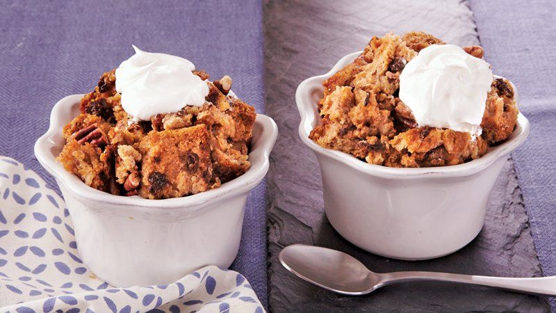 Slow-Cooker Cinnamon-Raisin Bread Pudding