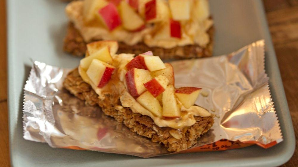 Pumpkin Apple Granola Bars