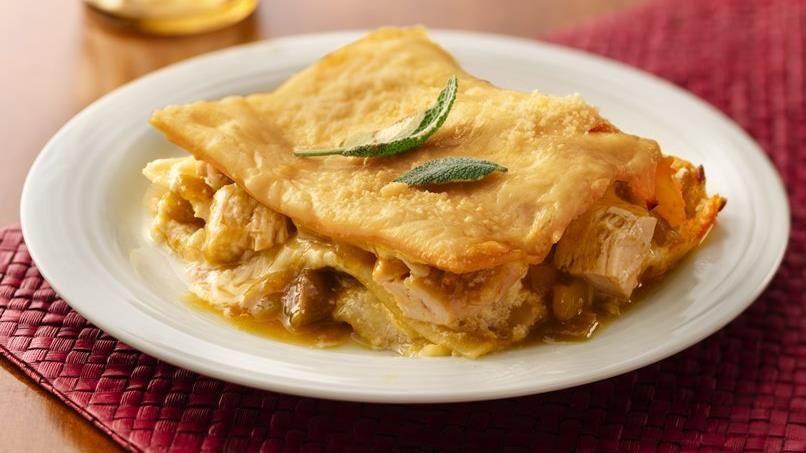 Green Chile Chicken Lasagna