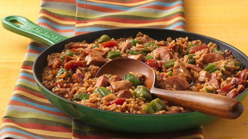 Slow-Cooker Chicken and Sausage Jambalaya