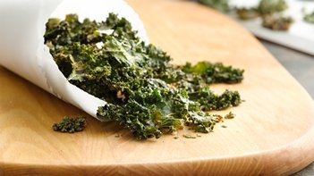 Gluten-Free Kale Chips with Tahini