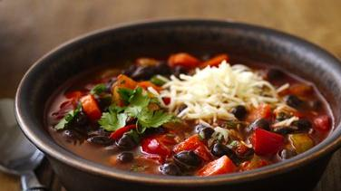 Black Bean Chili with Cilantro