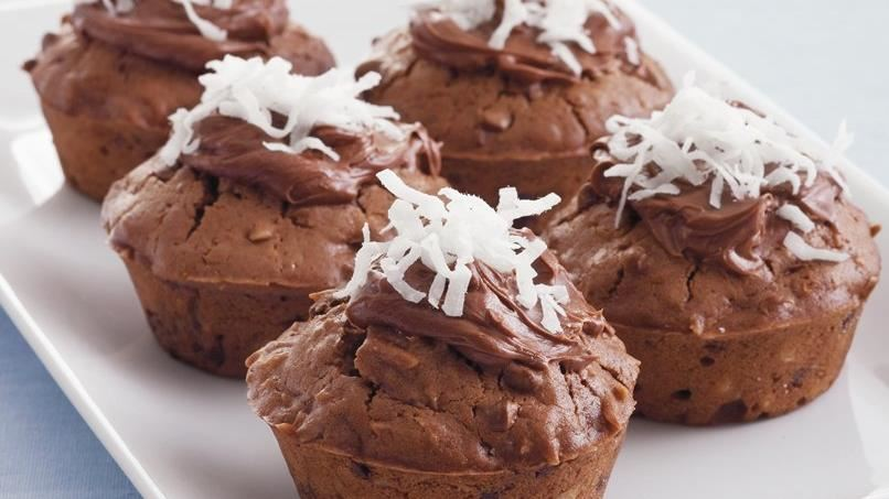 Chocolate-Coconut Muffins