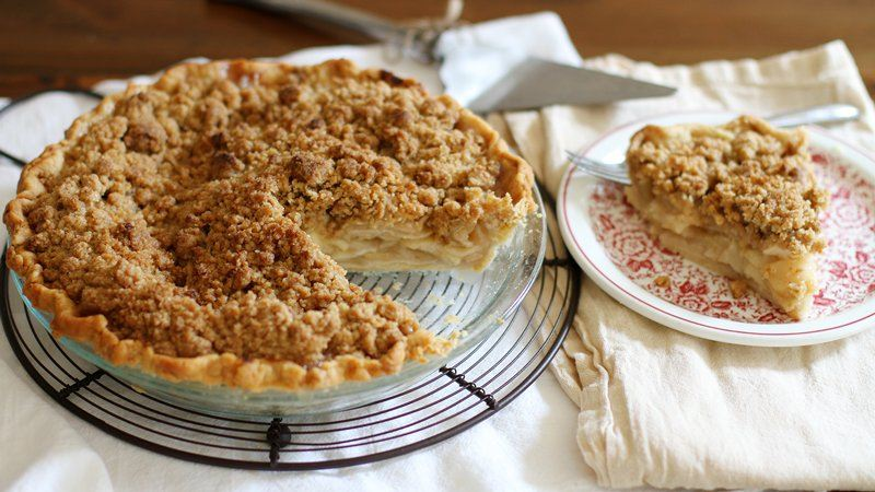 Apple Crisp With Cake Mix Topping