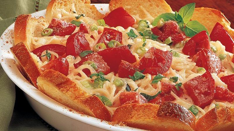 Italian Pasta Pie