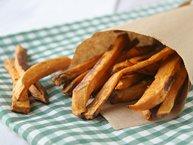Taco Spiced Sweet Potato Fries