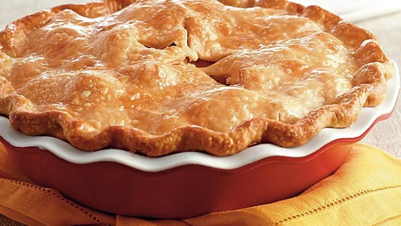 Honey Roasted Apple Pie