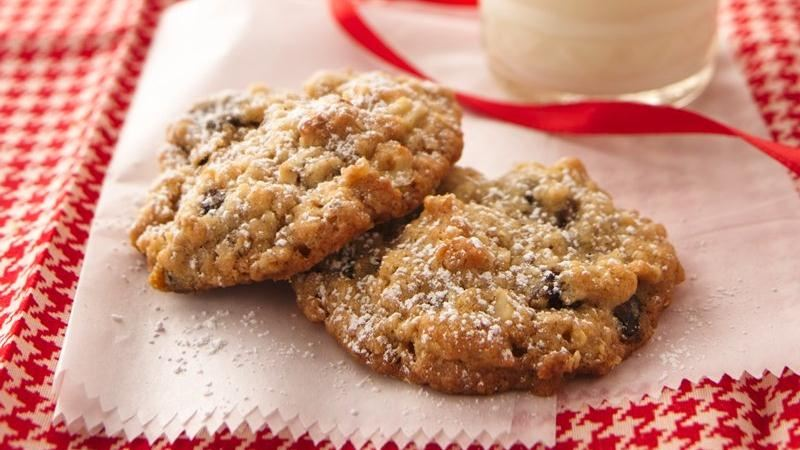 Easy Date Walnut Cookies