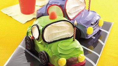 Little Car Cakes