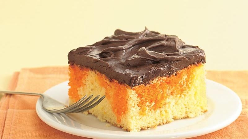 Orange Swirl Cake