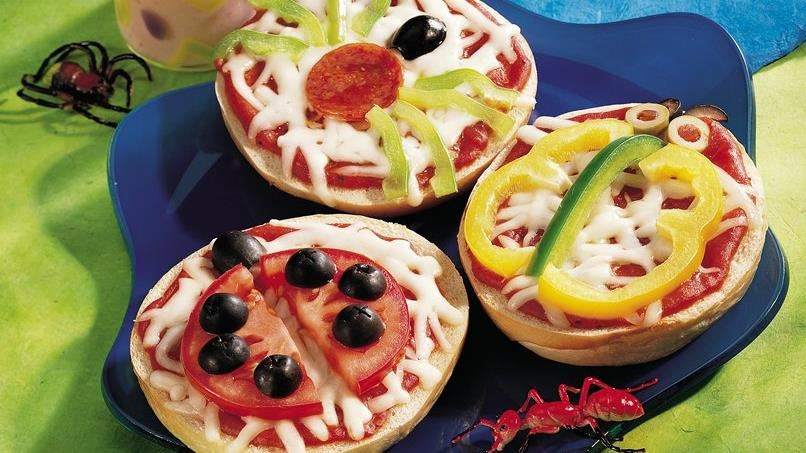 Crazy Critter Bagel Sandwiches