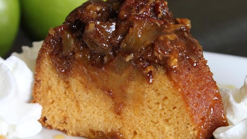 Apple-Butterscotch Ring Cake
