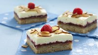 Lemon Linzer Bars
