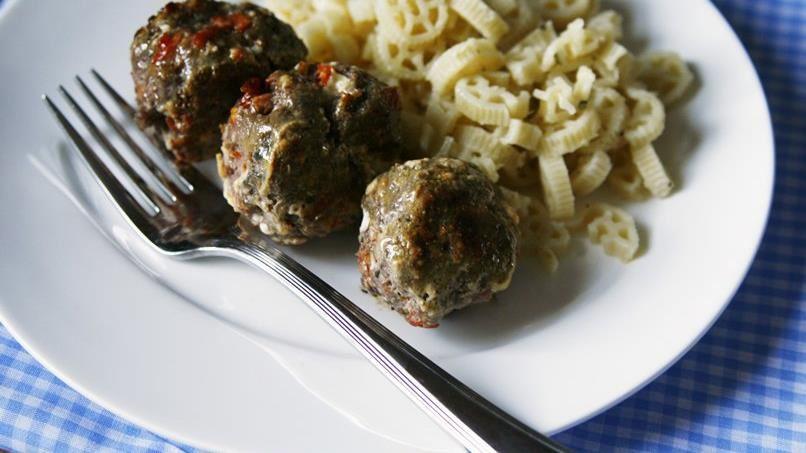 Caprese Meatballs