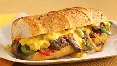 Philly-Goes-Mexican Cheesesteak