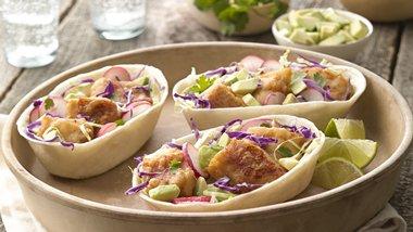 Baja-style Fish Taco Boats™