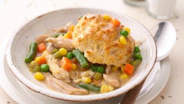 Slow-Cooker Upside-Down Chicken Pot Pie
