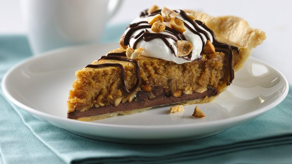 Sweet Chocolate-Peanut Butter Pie
