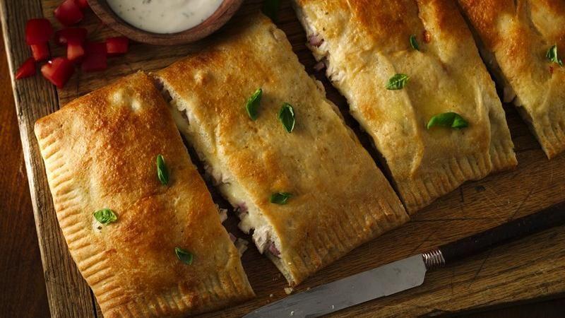 Chicken and Ham Slab Sandwiches