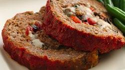Italian Cheese-Stuffed Meatloaf
