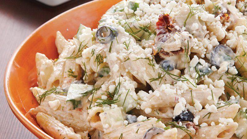 Tzatziki Pasta Salad