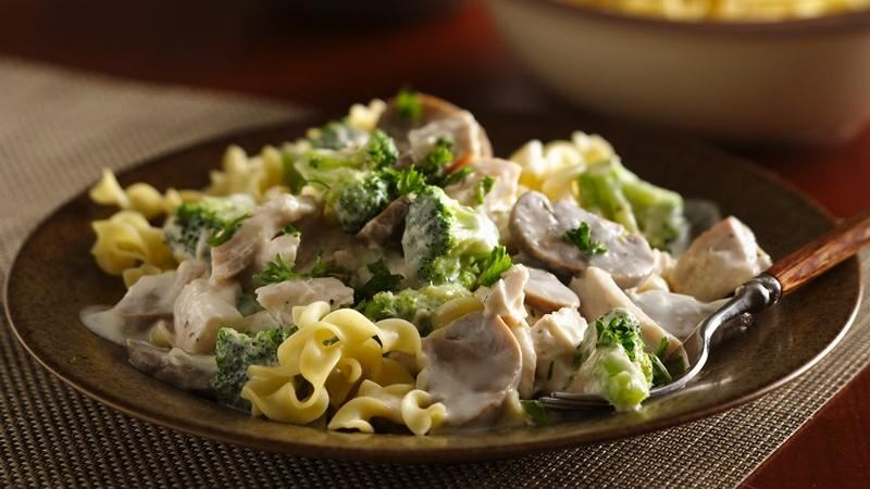 Chicken Broccoli Stroganoff