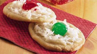 Macaroon-Topped Sugar Cookies