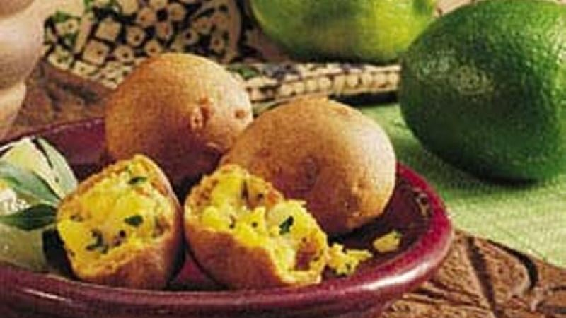 Lime-Flavored Potato Croquettes (Bondas)
