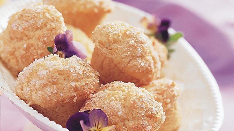 Orange Almond Mini-Muffins