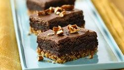Pretzel Brownie Bars