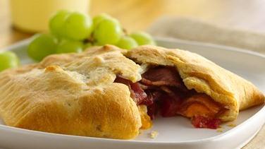 Cheesy Bacon Crescents
