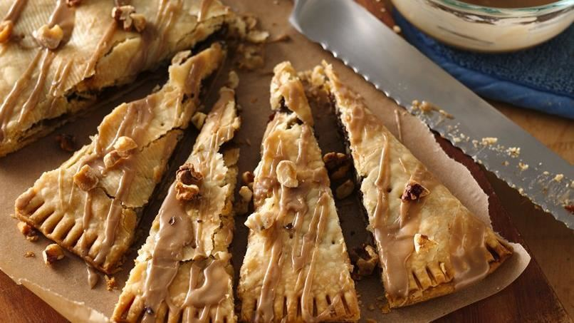 Pumpkin and Maple Turnover