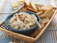 Caramelized Apple-Blue Cheese Spread