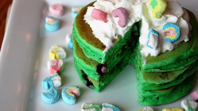 Top o' the Mornin Lucky Charms® Pancakes