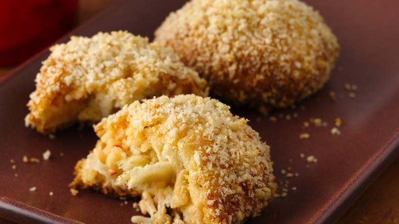 Cheesy Risotto Balls