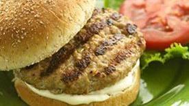 Garlic Mayonnaise Turkey Burger Recipe
