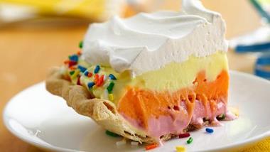 Sherbet Ombre Celebration Pie