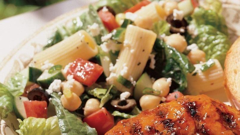 Mediterranean Rigatoni Salad